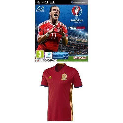 Pro Evolution Soccer (PES) UEFA Euro France 2016 + 1ª Equipación ...