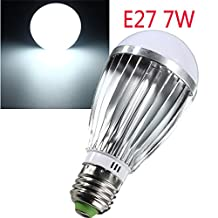 E27 7W LED Light Lamp White Bulb Lighting Garden Camper Indoor DC12V