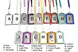 Bulk Discounted Rhinestone Lanyards with Vertical ID Badge Holder Attached || Great for Gifts, Parties, Special Events, Hospitals, Work, Doctors, Nurses, Teachers and More! (125X Vertical Rhinestone Lanyard/Lined ID badge)
