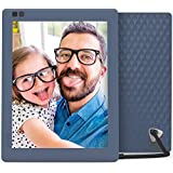 Nixplay Seed 10 Inch WiFi Cloud Digital Photo Frame with IPS Display, iPhone & Android App, iOS Video Playback, Free 10GB Online Storage, Alexa Integration and Hu-Motion Sensor - Blue (W10A)
