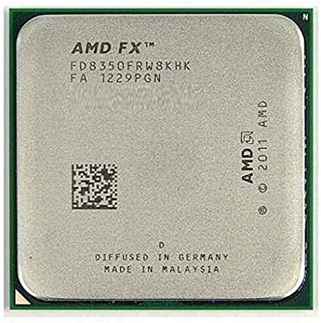 Amazon Com Amd Fx 8350 4 0 Ghz 4 2 Ghz Turbo 8 Core Socket Am3 Oem Ver Processor Cpu With Thermal Paste Computers Accessories