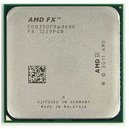 AMD FX-8350 4.0 GHz (4.2 GHz Turbo) 8-Core Socket AM3+ OEM Ver. Processor CPU with Thermal Paste by A M D