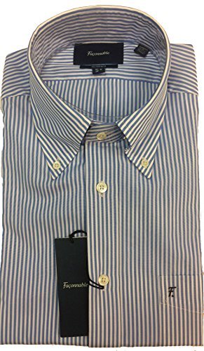 Faconnable Classic Fit Dress Shirt, Shirt - 41 Neck - 16 Sleeve - 34-35