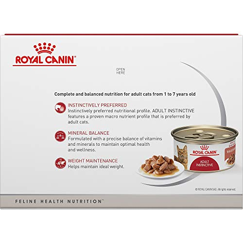 Royal Canin Adult Instinctive Thin Slices in Gravy Wet Cat Food, 3 oz., 12-Pack