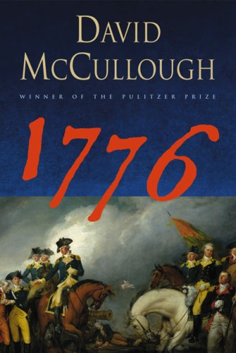 Book cover from 1776 by David McCullough
