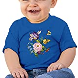 Best Infantino High Chair For Babies - DIMANNU Infants T Shirts Toddlers Cotton Short Sleeves Review