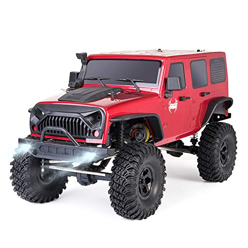 - RGT RC Crawlers 1:10 Scale 4wd Rock Crawler RTR 4x4 Off Road Truck Rock Cruiser EX86100 Waterproof Rc Car