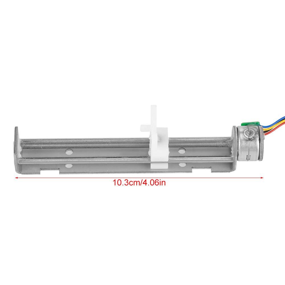 DC 12V Stepper Motor with Linear Screw Nut Slider for DIY Engraving Machine motor Accessories Stepper Motor Slider