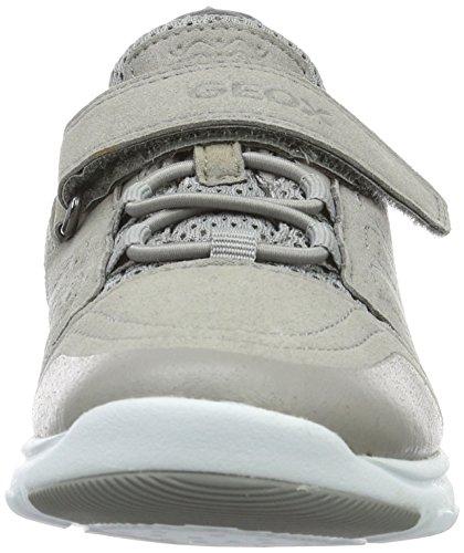Geox J Xunday C, Zapatillas para Niños Gris (Greyc1006)