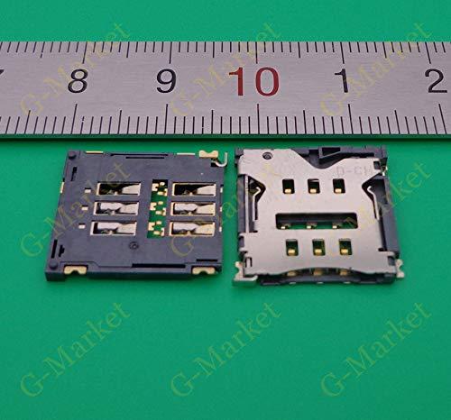 Ochoos 3-20pcs Lector de tarjeta SIM Conector Socket para ...