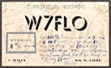 W7FLO Wm W Labbo Torrington WY QSL card 1946