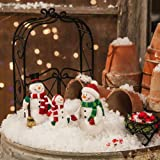 Cheap New Creative Mini Garden Snowman Family
