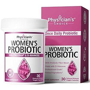 Prebiotics & Probiotics for Women - Clinically Proven ProCran - Organic Prebiotics, 50 Billion CFU, D-Mannose… 7