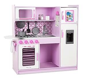Melissa & Doug Cocina de juguete, Chef's Kitchen - Pink (14002)