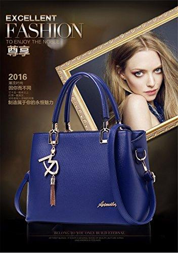 CCZUIML Azul Bag azul de Bolso Mujer Mano Crossbody para ggqr0Cw