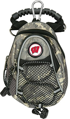 NCAA Wisconsin Badgers - Mini Day Pack - Camo by LinksWalker