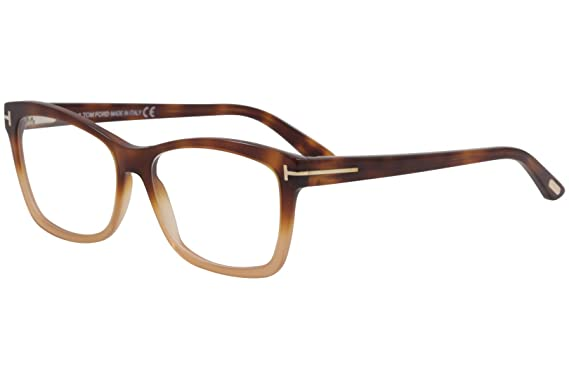 d267d24ca8 Image Unavailable. Image not available for. Color  Eyeglasses Tom Ford FT  5424 056 havana other