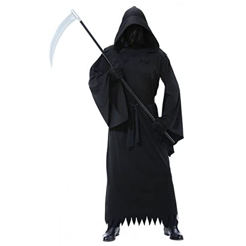New Amscan Mens Halloween Phantom Darkness Fancy Dress Costume