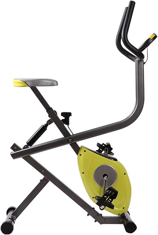 A-SSJ Bicicletas Estáticas y de Spinning Plegable Ajustable ...