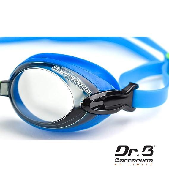 9e86aa73bfc9a Dr.B Barracuda RX - Optische Schwimmbrille mit Sehstärke für Damen und  Herren, 100% UV-Schutz, Anti-Beschlag-Beschichtung #92295: Amazon.de: Sport  & ...