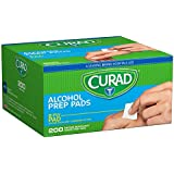 Curad Alcohol Prep Pads 200 Ea (Pack Of 20)