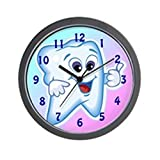 CafePress – Funny Dentist Dental Hygienis – Unique Decorative 10″ Wall Clock