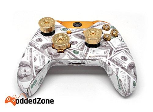 Money Talks w/ShotGun Thumbsticks, Dpad and Real Gold 9 mm