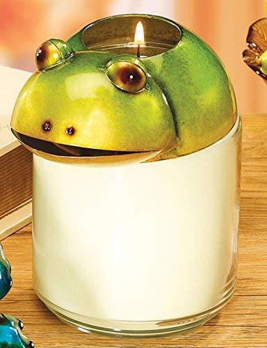 DecoGlow Candle Jar Topper - Frog