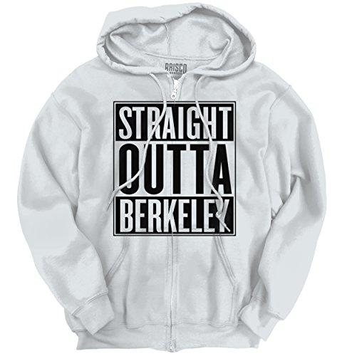 Straight Outta Berkeley, CA City Movie T Shirts Gift Ideas Zipper - Ca Francisco Ca Stockton To San