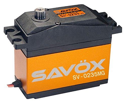 Savox 0.15/486 High Voltage 7.4V Servo (1/5 Scale) (Sv Servo)