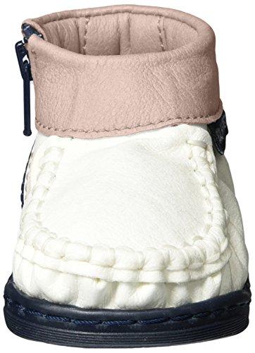 Walkkings Zip Around - Botas de senderismo Bebé-Niños Weiß (Precious Pink Frosting)