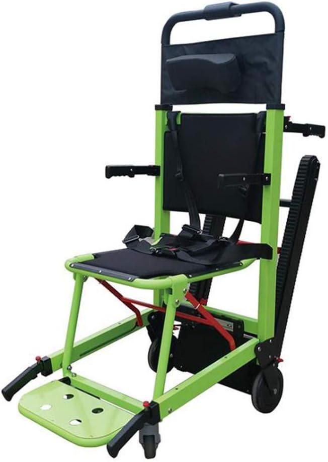 SISHUINIANHUA Batería de Litio de orugas para sillas de Ruedas de Escalada eléctrica, escaleras para sillas de Ruedas Portabebés para Ancianos discapacitados