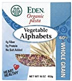 Eden Organic Pasta, Vegetable Alphabets 2 Pack (1 Lb Ea)