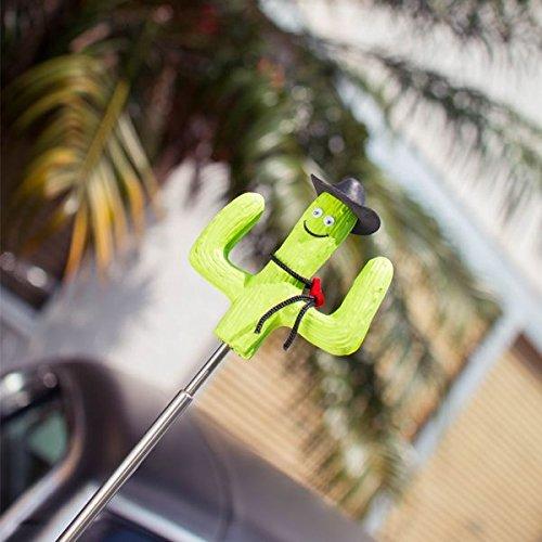 HappyBalls/® Quantity 2 pcs pack Happy Cactus Car Antenna Topper