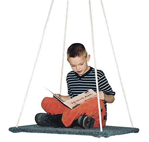 Take A Swing Homestand II Carpeted Plywood Junior Platform Swing - 30 x 30 x 1/2 inch