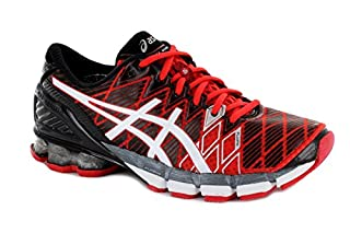 best sneakers 54d95 99f44 Asics T3E4Y Men s GEL-KINSEI 5 Running Shoes, Red White Black, 11  (B00H546YZE)   Amazon price tracker   tracking, Amazon price history  charts, Amazon price ...