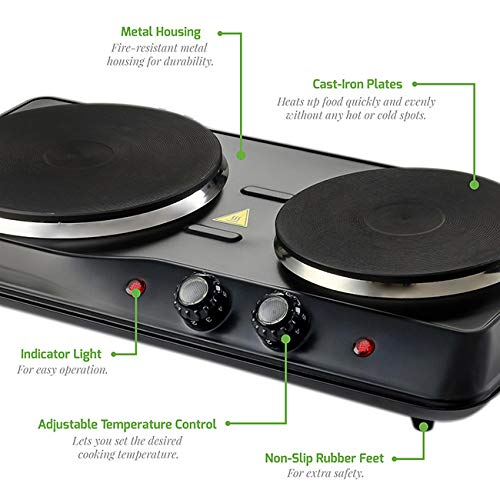 Hot plates for cooking