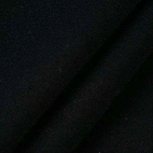 Ragazza Tumblr Top Stampa con Donna Rose Casual Felpa Senza Manica Crop H Cappuccio da Tumblr Camicetta Donna Felpe Lunga Felpe Luoluoluo q6SEE