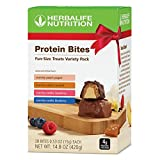 Protein Snack Bites Variety Pack 28 Wrapped Pieces per Box 4 Different New Flavors