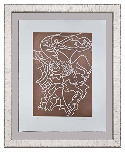 Modern Now Andre Masson (1896-1987) Original Hand SIGNED Limited Edition Etching | 1978 | ATHENA | Justification, Gallery Provenance | ART183;docs8482; +179;