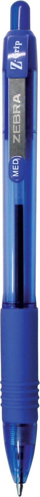 Zebra Pen Z-Grip Retractable Ballpoint Pen, Medium Point, 1.0mm, Blue Ink, 48-Count by Zebra Pen (Image #3)
