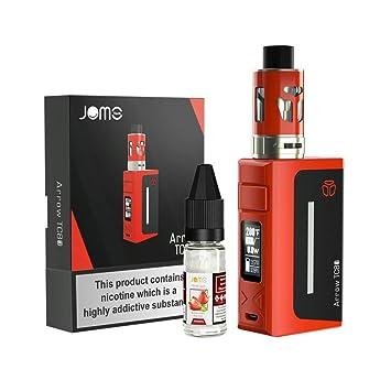 E Cigarette, JOMO TECH Electronic Cigarettes Starter Kit 80W 2200mAh  Battery Anti-Leak Sub Ohm Vape Mods with 10ml Vape Juice E Liquid, OLED  Display