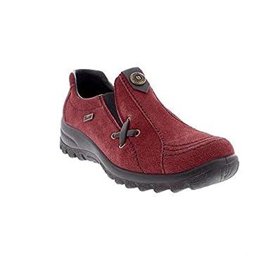 4d887b8a5038a Rieker Eike L1760/35, Damen Slipper / Halbschuh, rot, 40.5 EU / 7 UK:  Amazon.de: Schuhe & Handtaschen