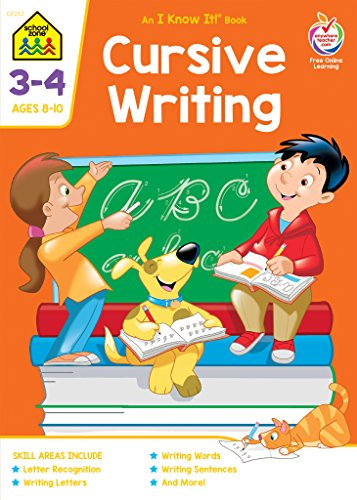 Cursive Writing Deluxe Edition Workbook Grades (Early Elementary Activities)