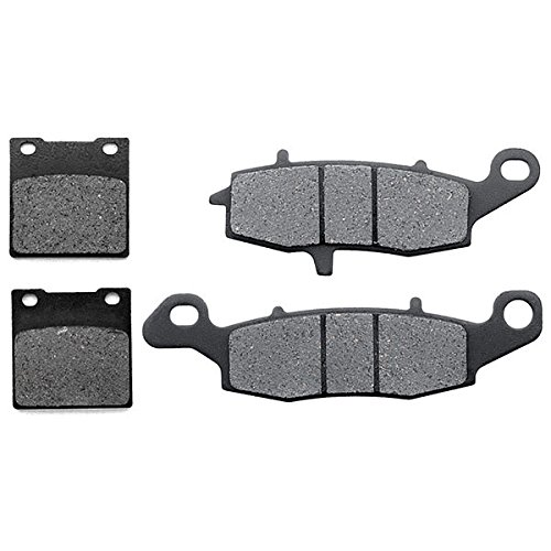 KMG 1996-2010 Suzuki GS500 Front + Rear Non-Metallic Organic NAO Brake Pads Set