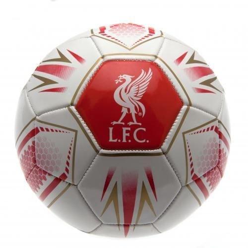 リバプールFCフットボールHX WT – Official Licensed Football Clubサッカーボール B010RRV5QS