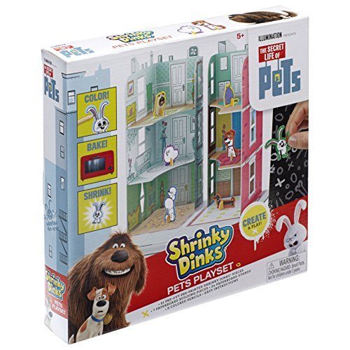 The Secret Life of Pets Shrinky Dinks Playset -