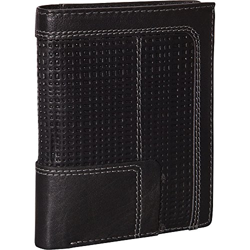 Collection Travel Wallet (Mancini Leather Goods Collegiate Collection: RFID Passcase Hipster Wallet)