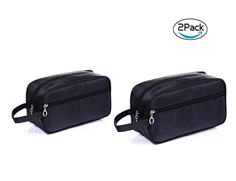 Amazon.com   Tumecos Toiletry Dopp Kit Travel Electronics Organizer Shaving Accessories  Bag (Black4)   Luggage   Travel Gear 73d4f15266