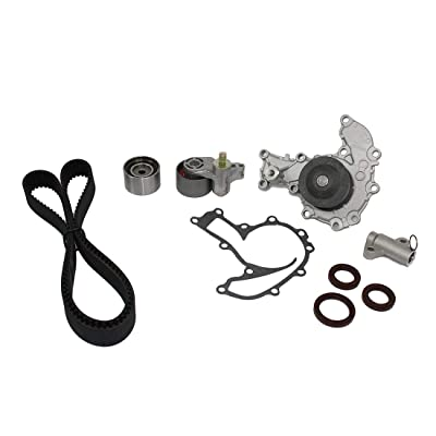 DNJ TBK353WP Timing Belt Kit with Water Pump/For 1998-2004 / Acura, Honda, Isuzu/Amigo, Axiom, Passport, Rodeo, Rodeo Sport, SLX, Trooper, VehiCROSS / 3.2L, 3.5L / DOHC / V6 / 24V / 3165cc, 3475cc: Automotive
